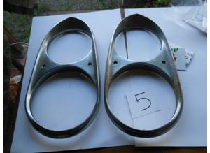 Headlamp rims for Ferrari 330 Gt 2+2 s1
