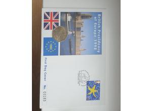 50 pence presidency coin