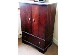 Useful and Beautiful Mahogany TV / Video Cabinet