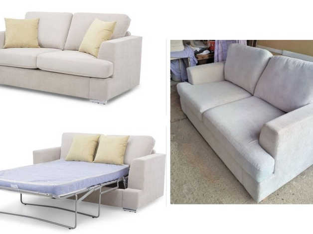 Remarkable Dfs Freya 2 Seater Deluxe Sofa Bed Rrp 899 In Colchester Machost Co Dining Chair Design Ideas Machostcouk