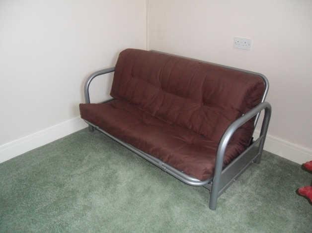 Admirable Argos Home Mexico 2 Seater Futon Sofa Bed In Worthing Machost Co Dining Chair Design Ideas Machostcouk