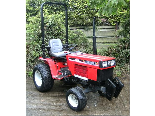 Ford New Holland 1220 / Shibaura S320 4wd 20hp Diesel