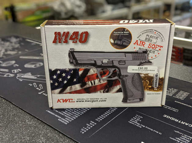 Kwc M40 6mm Airsoft Pistol - New - £60 in Sheffield on