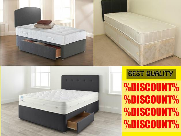 Discount Double Single Divan Bed Set In Enfield N21 On Freeads Classifieds Beds Mattresses