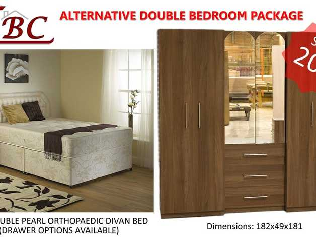 Complete Double Bedroom Alternative Furniture Package Special Offer In Sheffield S2 On Freeads