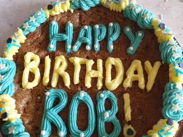 Enjoyable Homemade Celebration Cakes Giant Cookies In Sheffield South Funny Birthday Cards Online Aboleapandamsfinfo