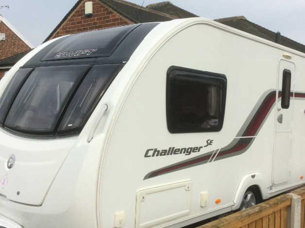 Swift Challenger 480 Se 2013 2 Berth Caravan With Motor